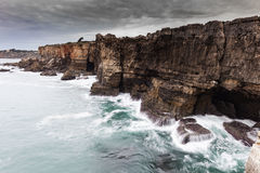 Boca do Inferno in Cascais Royalty Free Stock Photo