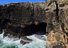 Boca do Inferno, Cascais, Portugal Royalty Free Stock Images