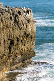 Boca do Inferno (Mouth of Hell) in Cascais Stock Images