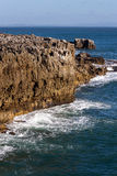 Boca do Inferno (Mouth of Hell) in Cascais Royalty Free Stock Photography