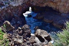Boca Do Inferno, PORTOGALLO fotografie stock libere da diritti