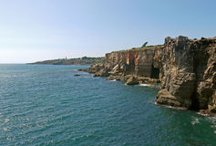 Boca Do Inferno, PORTUGAL. Beautiful view of Boca Do Inferno, PORTUGAL Stock Photography