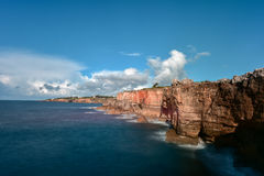 Boca do Inferno - Portugal. Boca do Inferno Portuguese for Hell`s Mouth is a chasm located in the seaside cliffs close to the Portuguese city of Cascais, in the Stock Photos