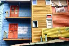 Boca do La em Buenos Aires fotografia de stock