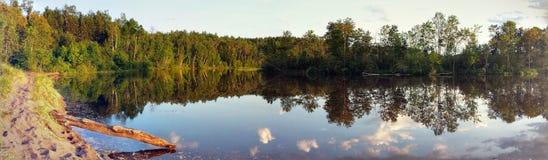 Boca do rio Foto de Stock