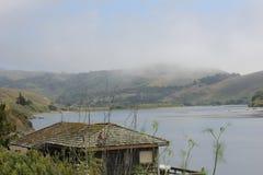 A boca do rio do russo - Jenner, Califórnia Imagens de Stock