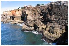 Boca fa l'inferno - Cais Cais - Portogallo fotografie stock