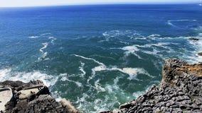 Boca fa l'inferno, Cascais, Portogallo immagine stock libera da diritti