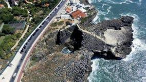 Boca fa l'inferno, Cascais, Portogallo fotografia stock libera da diritti