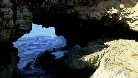 Boca fa l'inferno, Cascais, Portogallo fotografie stock