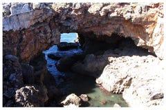 Boca faz o inferno - Cais Cais - Portugal Imagens de Stock