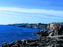 Boca faz o inferno - Cais Cais - Portugal imagem de stock royalty free