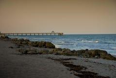 Boca Florida-stranden Royalty-vrije Stock Foto's