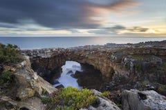 ` Boca gör inferno` i Cascais, Portugal Arkivbild