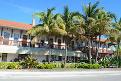 Boca Grande. Cafe, building on a summers day Stock Photo