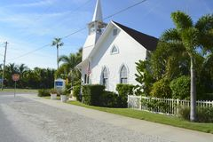 Boca Grande church. Bova Grande church on a quiet summers day Royalty Free Stock Photo