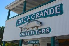 Boca Grande, la Florida Imágenes de archivo libres de regalías
