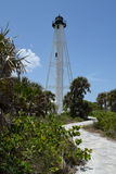 Boca Grande Light House Arkivfoto