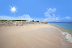 Boca Grandi beach Royalty Free Stock Image