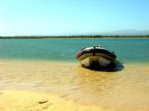 Boca Jeffreysbay de Gamtoosriver Imagem de Stock