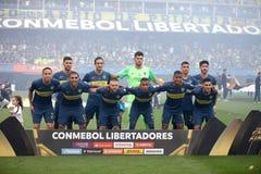 Boca Juniors Libertadores 2018 foto de stock