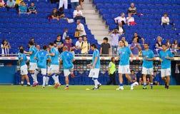 Boca Juniors players Stock Photos