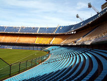 Boca Juniors stadium Royalty Free Stock Image