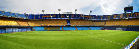 Boca Juniors stadium, Buenos Aires, Argentyna Obraz Royalty Free