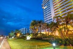 Free Boca Raton Buildings At Night, Florida Royalty Free Stock Photography - 115380567