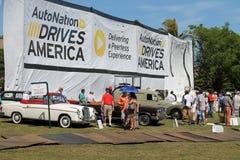 Boca raton classic car event Stock Images