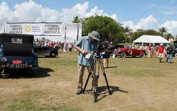 Boca raton classic car event Stock Photography
