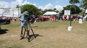 Boca raton classic car event 2 Royalty Free Stock Photos