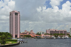 Boca Raton. View of historic district of boca raton florida Stock Photo