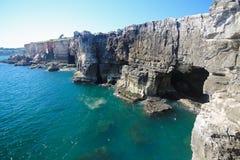 Boca robi jatce przy Cascais, Portugalia Obrazy Stock