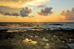 Boca Sunrise Royalty-vrije Stock Afbeeldingen