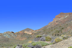 Boca Tauce in Mount Teide National Park Royalty Free Stock Images
