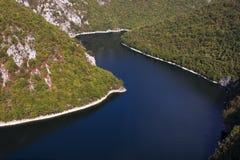 Bocac See auf Vrbas Fluss lizenzfreies stockfoto