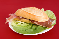 Bocadillo Stock Photo