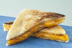 Bocadillo asado a la parrilla del queso imagen de archivo libre de regalías