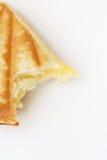 Bocadillo de la torta de las natillas Imagen de archivo libre de regalías