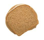 Bocadillo de pavo del queso de soja con Mayo Imagen de archivo libre de regalías