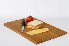 Bocadillo del queso de Roumy Fotos de archivo libres de regalías
