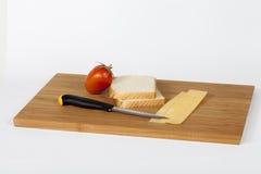 Bocadillo del queso de Roumy Fotos de archivo