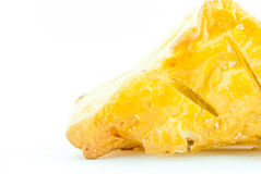 Bocadillo o empanada aislada Imagen de archivo