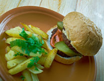 Bocado  Burger Royalty Free Stock Photography