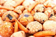 Bocado del arroz Imagen de archivo libre de regalías