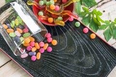 Bocado del caramelo Imagenes de archivo