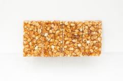 Bocado dulce del cacahuete Fotografía de archivo