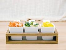 Bocado sano - verduras frescas Imagenes de archivo