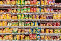 Bocados de los alimentos de preparación rápida Foto de archivo